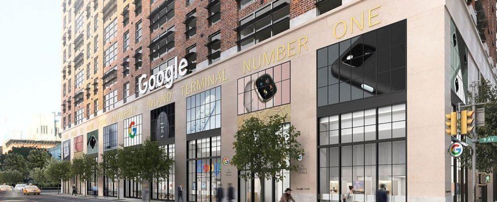 Google eröffnet seinen weltweit ersten Retail Store in New York City