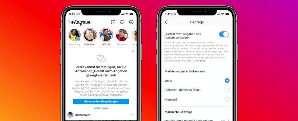 Endlich weg: User können auf Instagram jetzt Likes verschwinden lassen