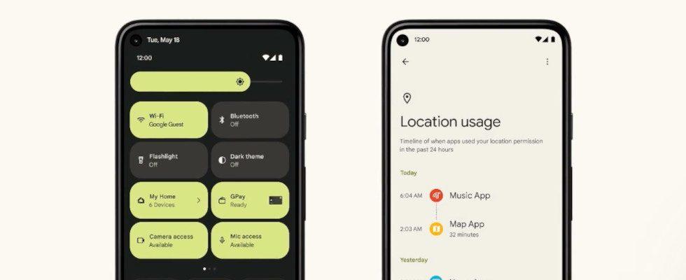 Android 12: Google stellt innovative Datenschutz-Features vor
