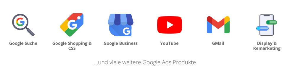 Smarketer deckt die Google Ads-Palette lückenlos ab