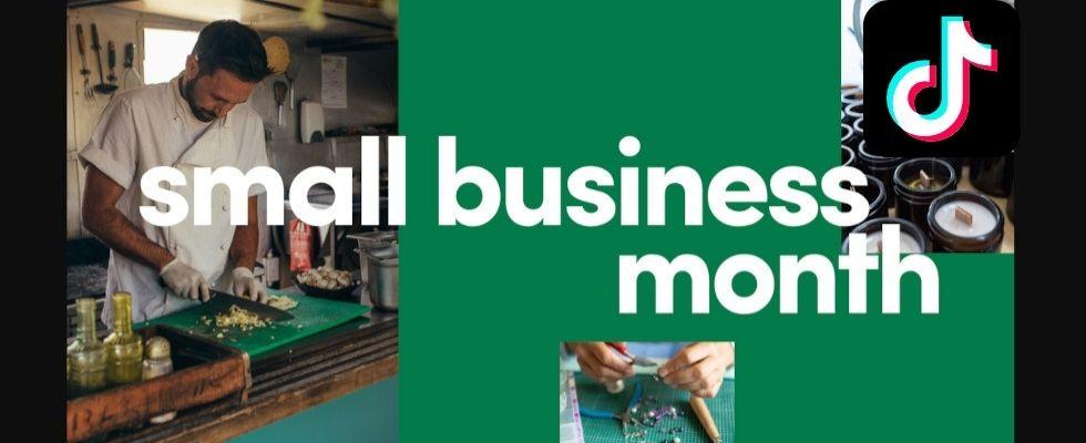 #SupportSmallBusiness: Neue Aktionen und Tools für KMU auf TikTok