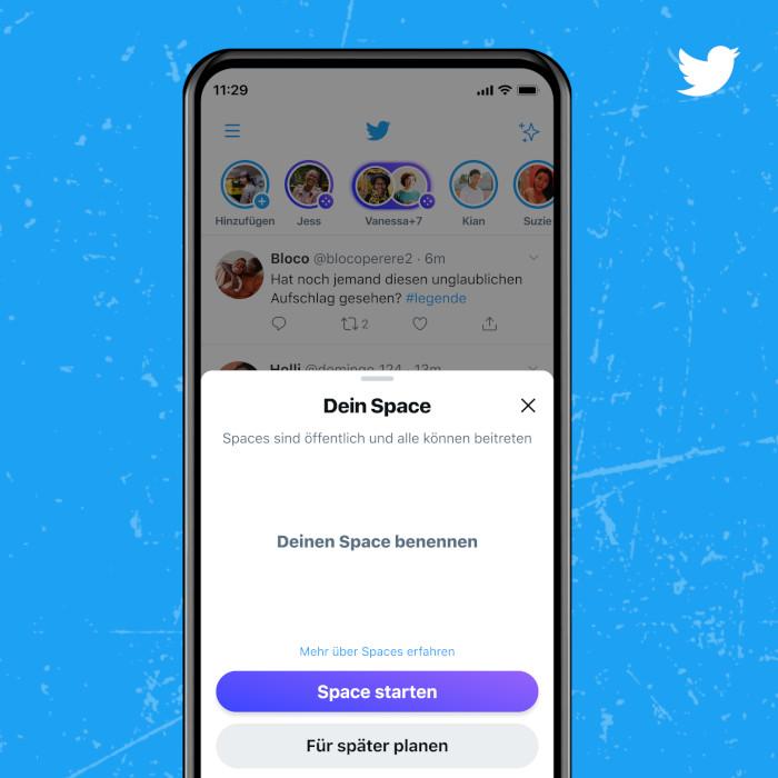 Deutlich mehr User können nun einen Space starten