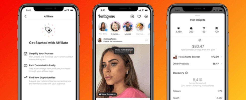 Noch einfacher Geld verdienen: Instagram gibt neues Affiliate-Programm für Creator bekannt