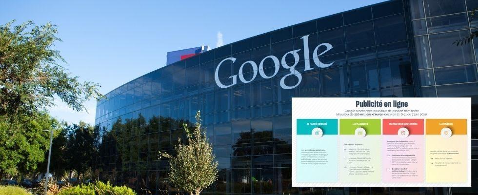 Kartellbehörde ordnet Millionenstrafe für Google an