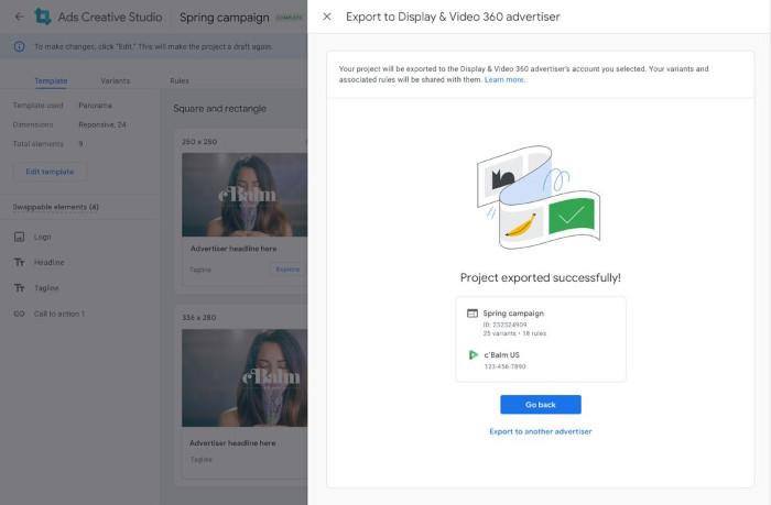 Googles Export für die Advertiser
