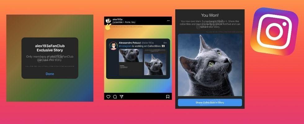 Instagram testet exklusive Fan Club Stories und NFT-ähnliche Collectibles