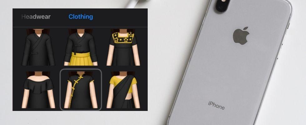 Mehr Auswahl: Neue Kleidung für Memojis bei iOS
