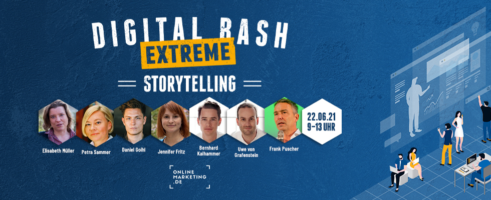 Erzähl deine Geschichte: Digital Bash EXTREME – Storytelling