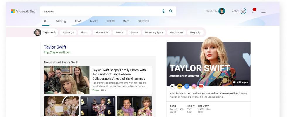 Farbenfrohe Google-Konkurrenz: Bing erhält personalisierbare Themes