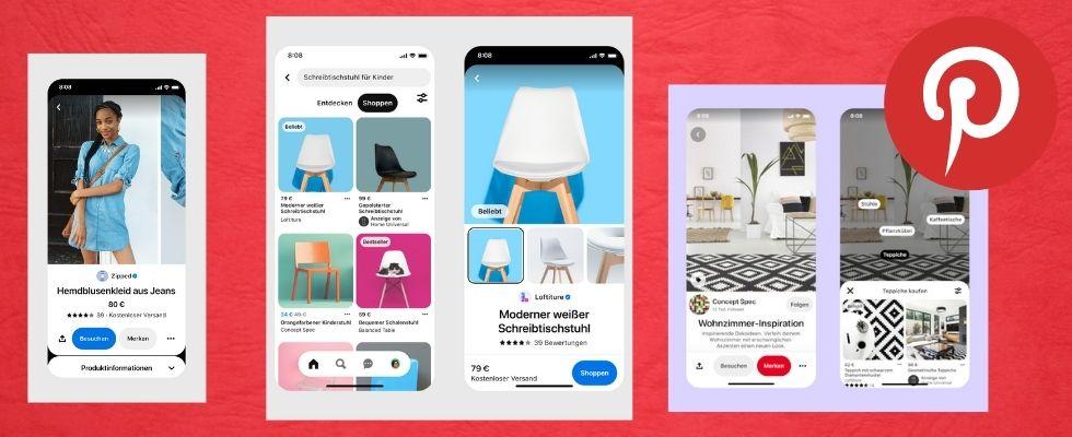 Produkte direkt über Pins kaufen: Pinterest führt neue Shopping-Funktionen ein