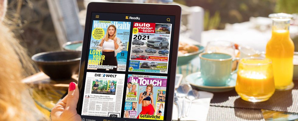 5.000 Magazine und Zeitungen für 1,99 Euro: Readly-Angebot auf OnlineMarketing.de