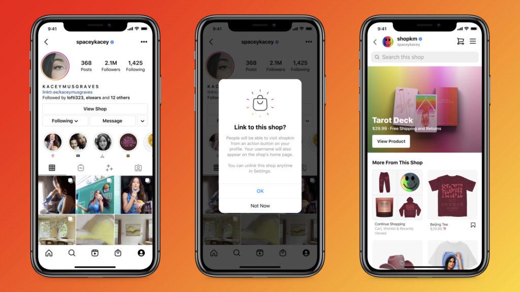 Shops Creator Instagram