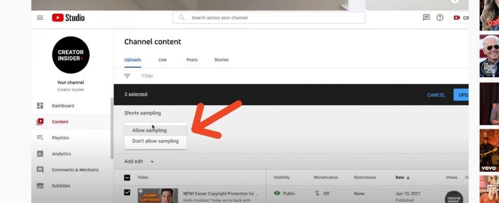 YouTube Shorts neue Analytic Tools