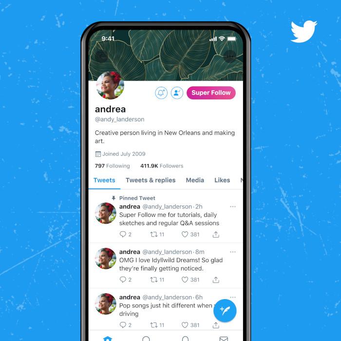 Super Follow auf Twitter