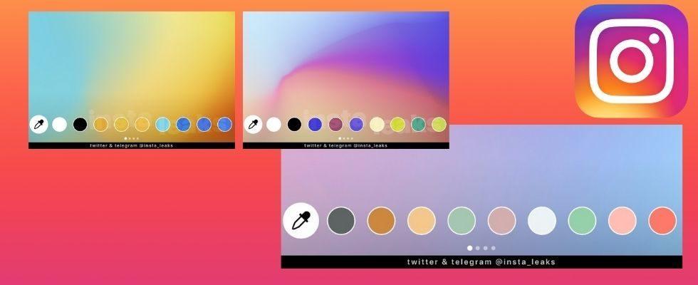 Neue Farben für deine Story: Instagram testet automatisch generierte und Pastell-Palette