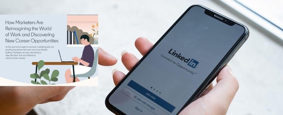Eine neue Arbeitswelt: LinkedIn erklärt den Einfluss von Remote Work auf die Marketing-Branche