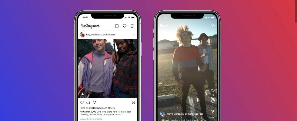 Instagram testet neues Collab Feature