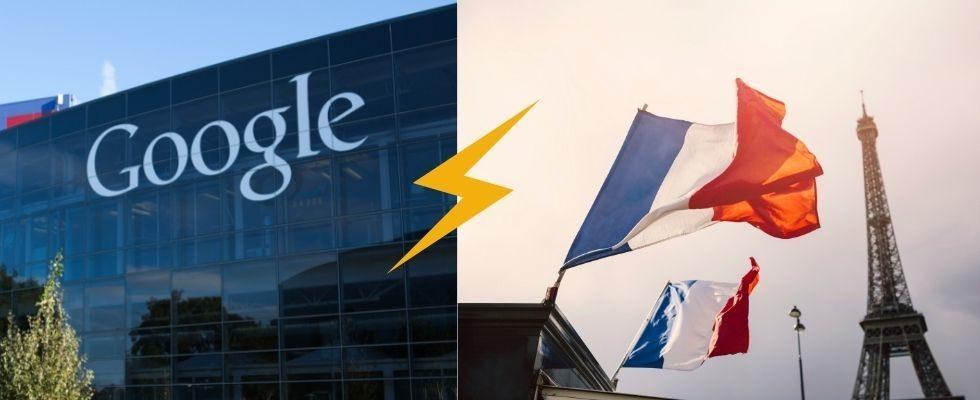 500 Millionen Euro Strafe: Frankreich straft Google ab