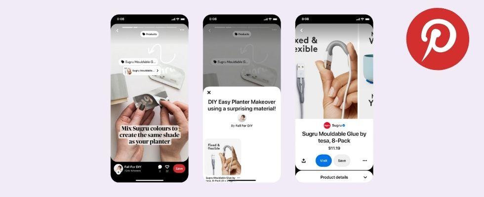 Pinterest launcht neue Monetarisierungs-Features: Mach deine Idea Pins jetzt zu Geld