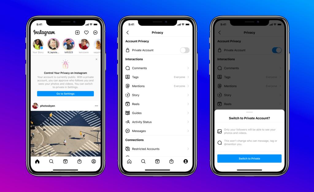 Neue Sicherheits-Features bei Instagram für junge User