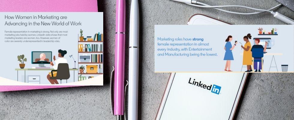 Daten von LinkedIn: So erfolgreich sind Frauen im Marketing