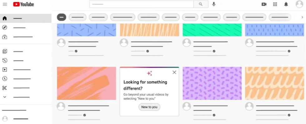"""""""New to You"""": YouTube zeigt dir personalisiert neue Kanäle und Videos"""