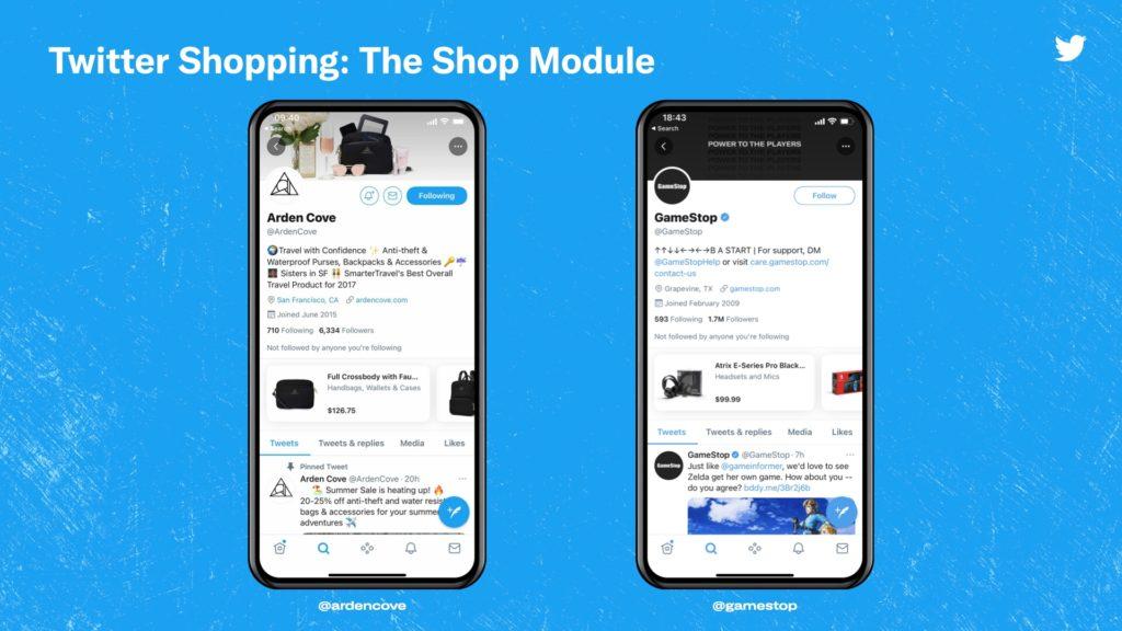 Twitter testet neue E-Commerce Features für Business-Profile, © Twitter