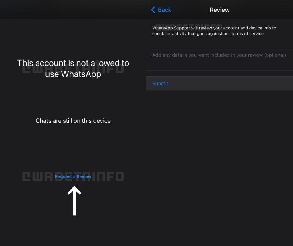 So könnte das neue In-App Toll bei WhatsApp aussehen, © WABetaInfo