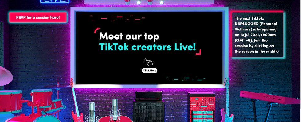 Unplugged: TikTok teilt Insights für Marketer in neuem Format