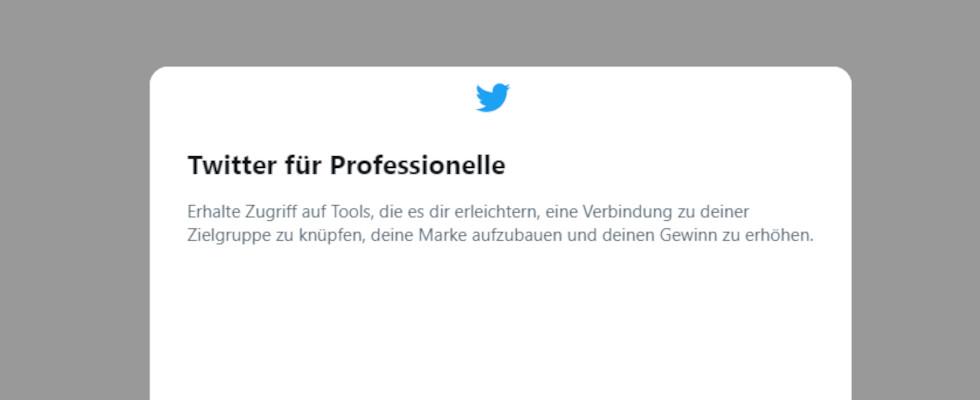 Twitter for Professionals wird weiterentwickelt