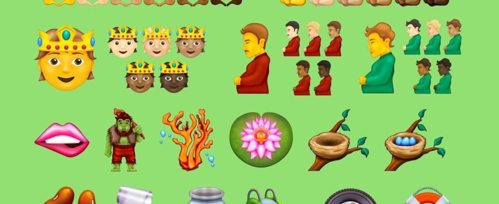 Prinzessin, schwangerer Mann und Diskokugel: Diese Emojis kommen im September 2021