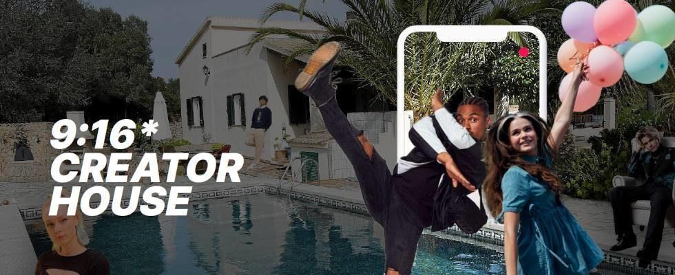 Das 9:16 Creator House – Agentur weCreate startet Realityshow mit Top TikTokern