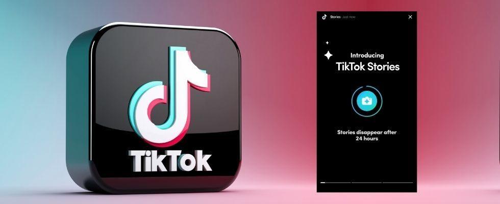 Test bestätigt: TikTok bekommt Stories