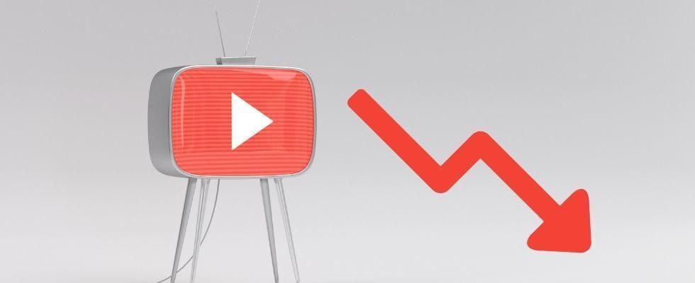 Sinkende Watchtime bei YouTube: Was sind die Gründe?
