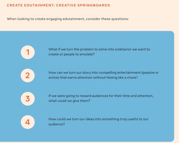 Edutainment-Kreation Das sollten Marketer und Marken beachten
