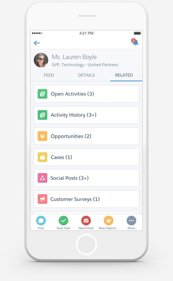 Gemeinsame Teamübersichten auch im Mobile-CRM-Kontext erleichtern das Daten-Management ungemein