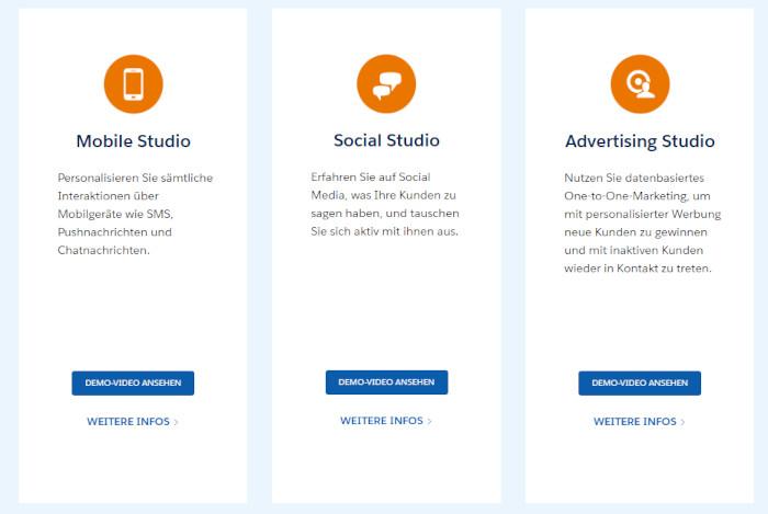 Mit Salesforce kannst du diverse Marketing Tools auf einer Plattform zusammenführen