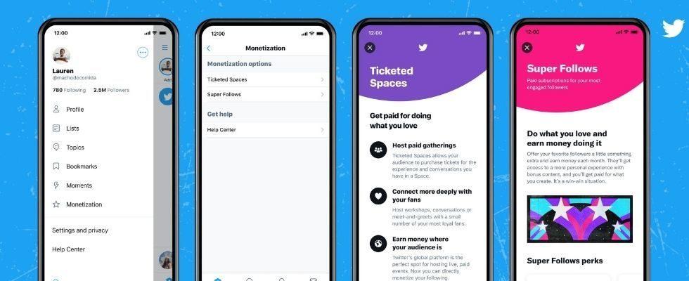 Twitter macht Ticketed Spaces für mehr User zugänglich