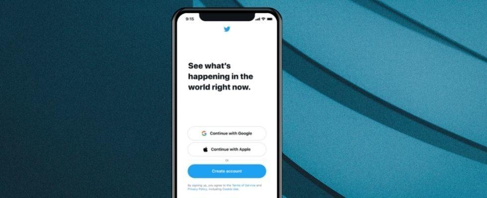Jetzt kannst du dich bei Twitter mit deiner Apple oder Google ID einloggen
