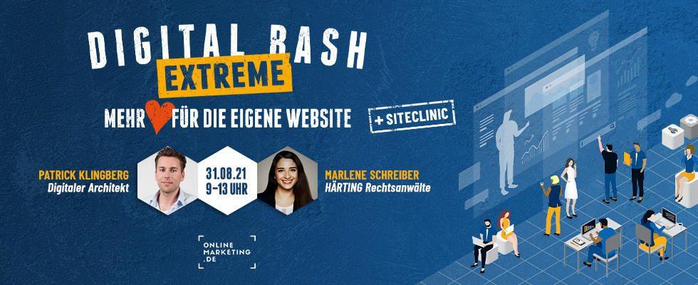 Next Level Website Performance: Hol dir Tipps beim Digital Bash EXTREME