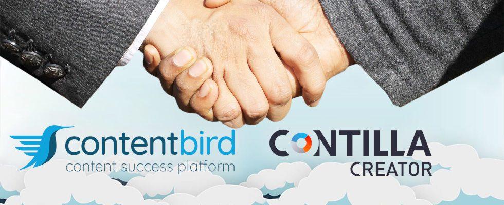 contentbird übernimmt Contilla Creator – den  Software-Anbieter für interaktive  Content-Formate
