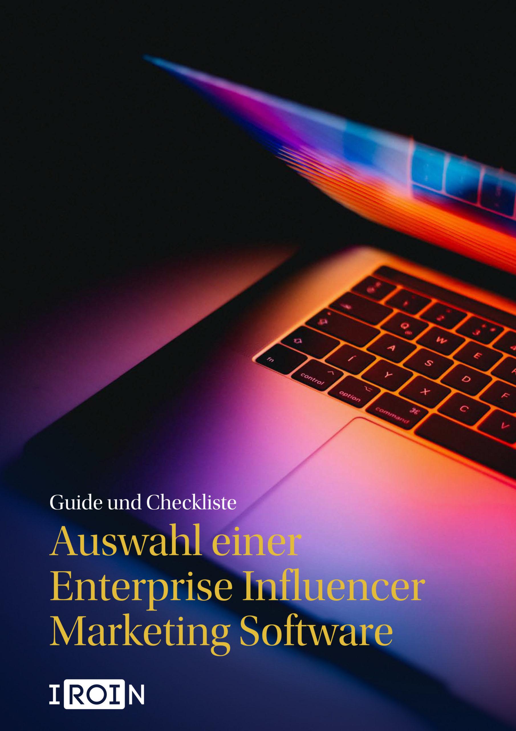 Deine Checkliste zur Auswahl einer Enterprise Influencer Marketing Software