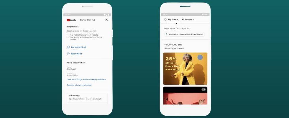 Google führt Advertiser Pages ein: Das können User damit über die Werbetreibenden erfahren