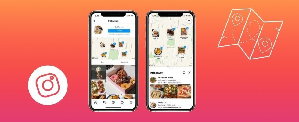 Wie bei Snapchat: Instagram fügt neues Feature Map Search hinzu