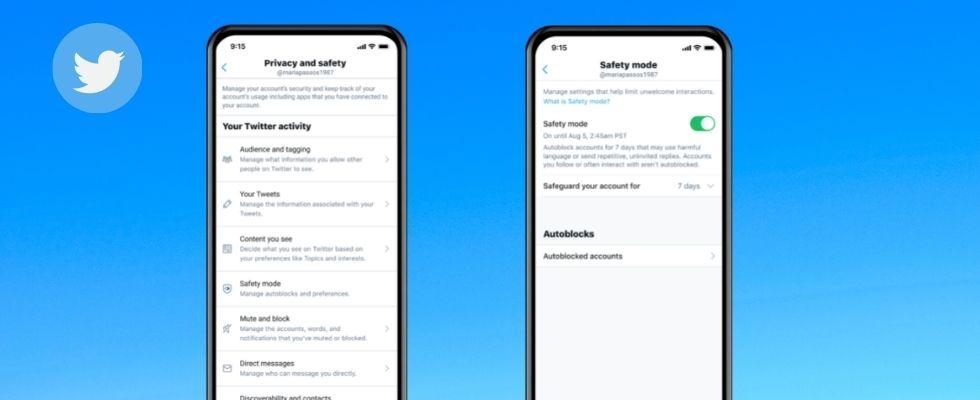 Twitter startet Safety Mode und sperrt automatisch toxische Accounts