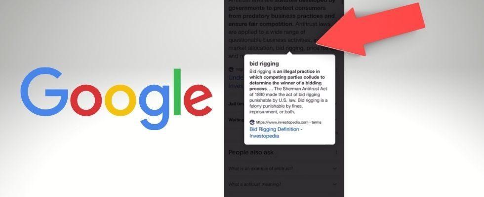 Googles Featured Snippet Link-Test ist zurück