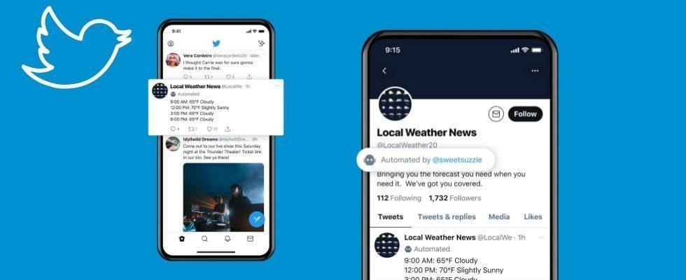 Neue Labels für Bot Accounts und Emoji Reactions: Twitter launcht offizielle Tests