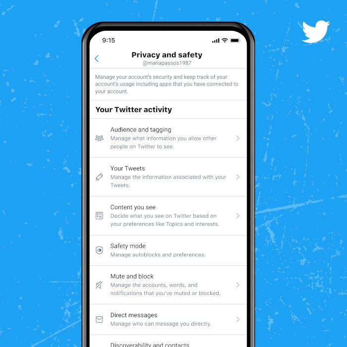 Twitters neuer Safety Mode in den Einstellungen