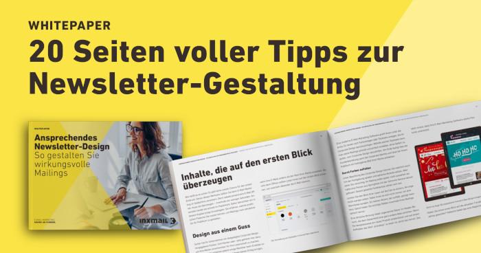 Whitepaper Ansprechendes Newsletter-Design