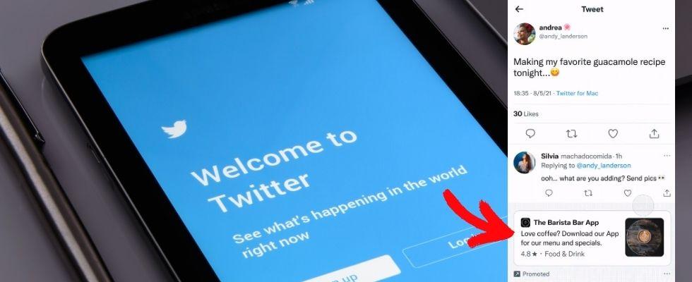 Neue Monetarisierungsoption: Twitter testet Ads in Kommentaren